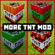 More TNT Minecraft Mod MCPE by Nevergreen soft