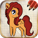 Draw Horses Ponies Unicorns Easy by Art Guides Company