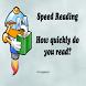 Speed Reading - Elementary by Zdenda