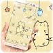 Cute Cartoon Graffiti Theme by Theme Designer