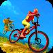 Offroad Monster Superhero BMX Bicycle Stunts Rider