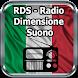 RDS - Radio Dimensione Suono Italia Online by appfenix