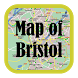 Maps of Bristol, England by Grow Comp