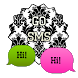 GO SMS - Damask 13 by SCSCreations