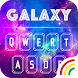 Color Keyboard Galaxy Theme by Keyboard Arts Themes