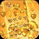 Gold heart love Theme by Wonderful DIY Studio