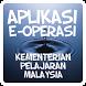 Aplikasi E Operasi by syed syahrul zarizi b syed abdullah
