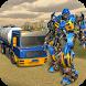 Oil Tanker Robot Transform Shooter