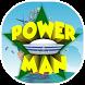 Power Man Theme&Emoji Keyboard by Fun Emoji Theme Creator