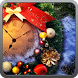 Xmas clock live wallpaper by Red eye