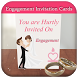 Engagement Invitation Cards by Furry Global Beauty Collage