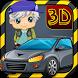 3DCartoon Backyard Car Parking by Games Element