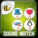 Kids Phonics Sound Match Game by Fun4Kids HoneyBee