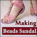 How to Make Beads Sandals Video - Beaded Flip Flop by Diwali 2017 Special Latest Deepavali Videos Apps