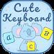 Cute keyboard theme by BestSuperThemes