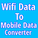 Wifi Data To Mobile Data Converter(Simulator) by alphadroid