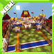 Royale Pixel PvP Minecraft map by Lavi Developer