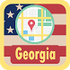 USA Georgia Maps by USA Maps and Street DIrections