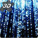 Parallax Infinite Particles 3D Live Wallpaper by Arthur Arzumanyan