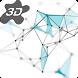 3D Particle Plexus Live Wallpaper by Arthur Arzumanyan