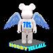 HOBBYYELLALL BEARBRICK 70% by Chu Kar Wai