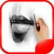 Lips Drawing Step by Step by Kajakoka