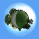 Tiny Planet - Globe Photo by Zinila Nguyen