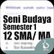 Kelas 12 SMA-SMK-MA Mapel Seni Budaya Smt 1 by Soft Inc