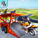 3D Bike Transporter Truck by AppsValley