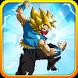 Goku Saiyan Battle by go2playall