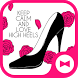 Cute Wallpaper Love High Heels Theme by +HOME by Ateam