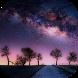 Starry sky live wallpaper by BestSlides