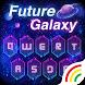 Future Galaxy Keyboard Theme by Keyboard Arts Themes