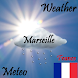 Weather Marseille France by Android Good Experience