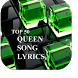 Queen 50 Top Song Lyrics by TECdev