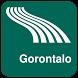 Gorontalo Map offline by iniCall.com