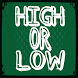 High or Low - Card Game by Rasmus Rosenqvist