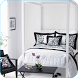 Black & White Bedroom Ideas by Devege