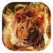 Fiery lion live wallpaper by Gopastido