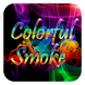Colorful Smoke by Launcher theme for Android