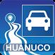 Mapa vial de Huánuco - Perú by DePeru.com