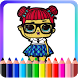 How To Color Lol Surprise Doll (New edition) by gamer-studio
