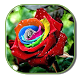 Colorful Rose Keyboard Theme by live wallpaper collection