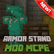 Armor Stand Mod for Minecraft by Gq mods studio