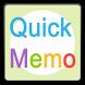 Quick Memo by jollyTris