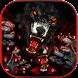 Bloody Wolf Warrior Keyboard Theme by Creative Beauty Studio
