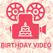 Birthday Video Maker by video music apps
