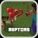 Raptors Mod MCPE by Perennia