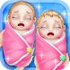 Newborn Twin Sisters Care by Big Cake Group Limited