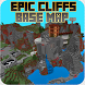 map Epic Cliffs base for Mcpe by Videos for Mcpe
